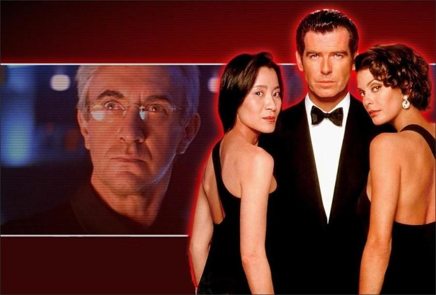 James Bond Has Battled Evil Commies And Megalomaniac Madmen Perhaps It Was Only A Matter Of Time Until He Faced Off Aga 90s Movies 1990s Movies Movie Trailers