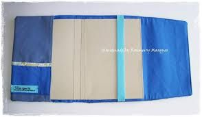 Resultado de imagem para capa para livro de tecido passo a passo