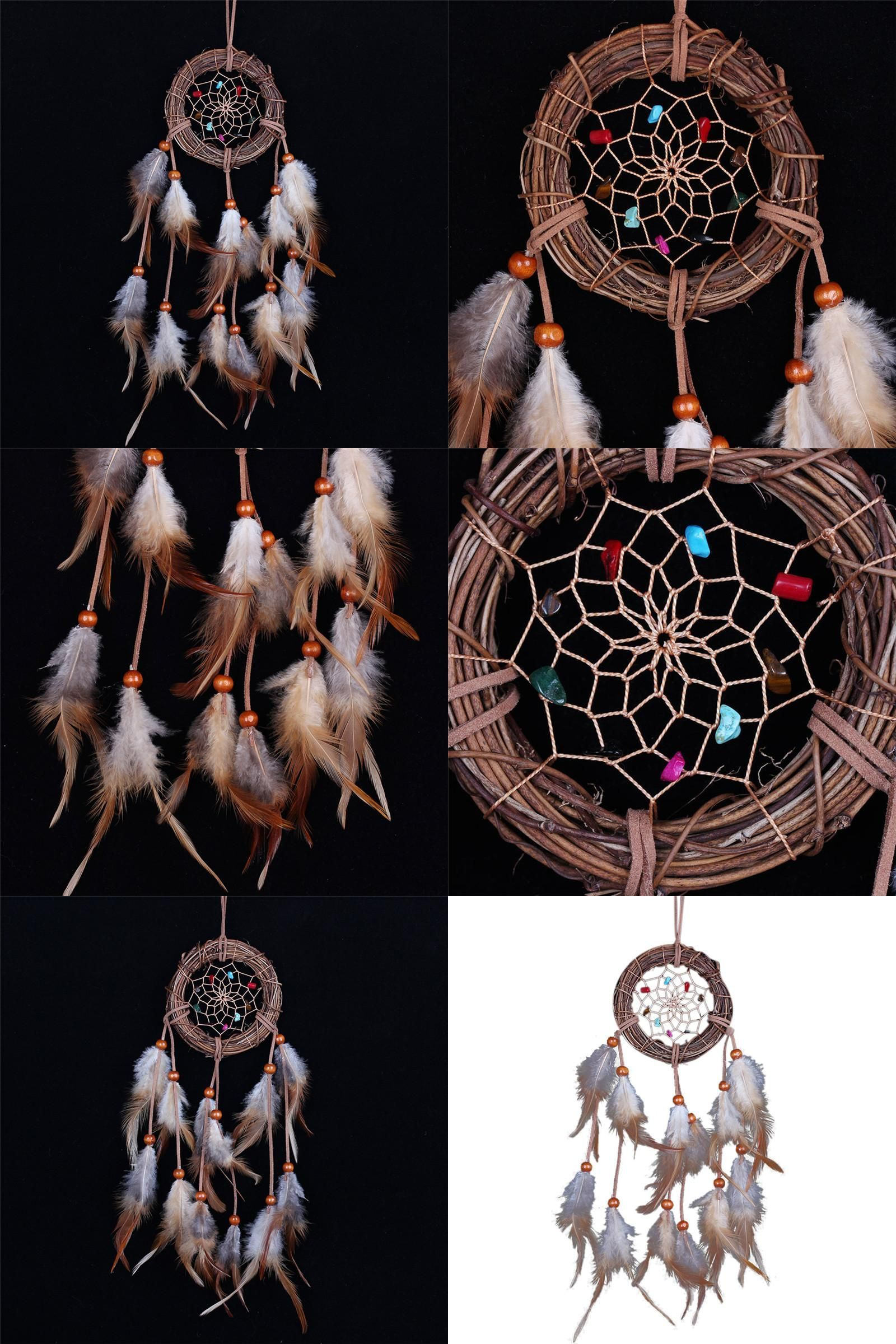 Cheap Dream Catchers Visit To Buy Cheap Home Decor Rattan Dream Catcher With Feathers