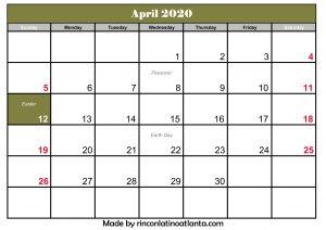 April 2020 Calendar Australia With Holiday Printable Template Holiday Calendar Printable Calendar Printables Holiday Calendar