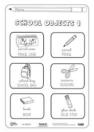 Resultado De Imagen Para My School Para Colorear Ingles Para