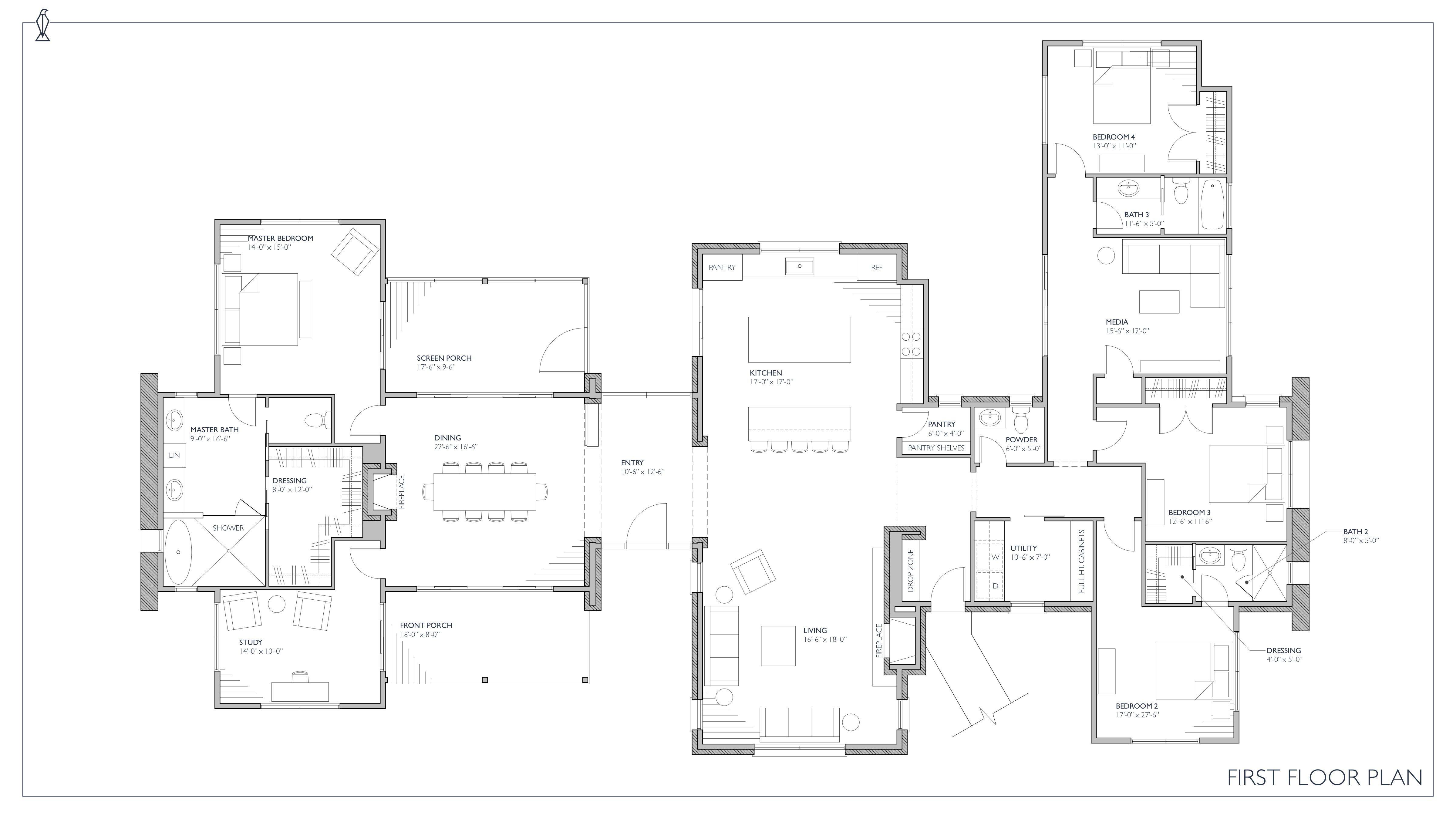 Ferrandaise farmhouse house plans farmhouse front and english