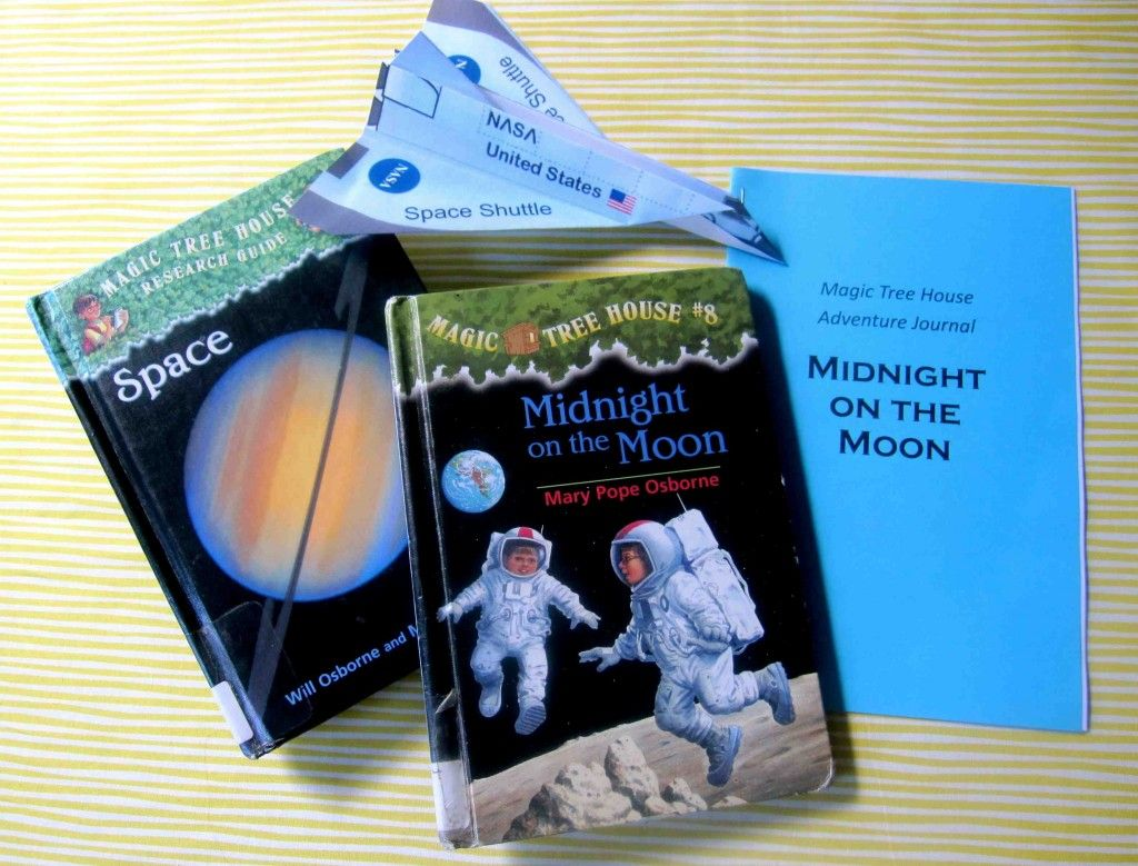 Adventures as Annie: Midnight on the Moon | Activities and games for  learning about the moon and space via the Magic Tree House book Midnight on  the Moon ...