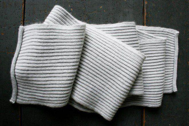 Brioche Scarf | Purl Soho | knitting knitting knitting | Pinterest ...