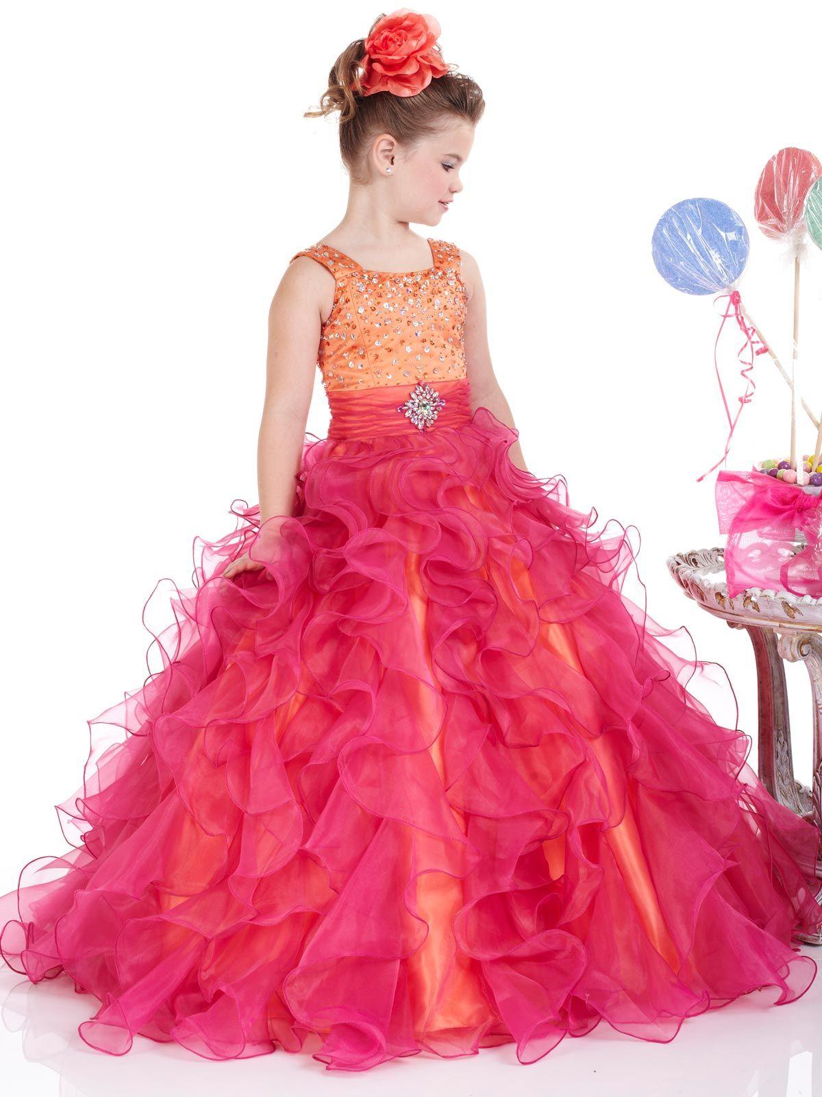 Tank Pink Princess Ball Gowns