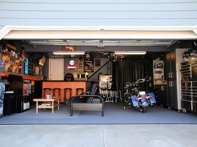 Simple Solutions For A More Livable Garage Man Cave Garage