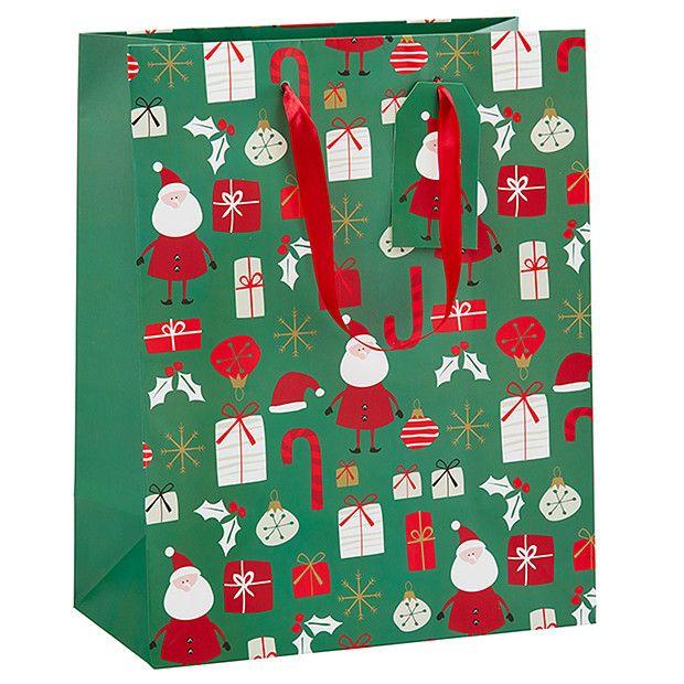 Target Timeless Christmas Gift Bag - Large | Target Australia ...