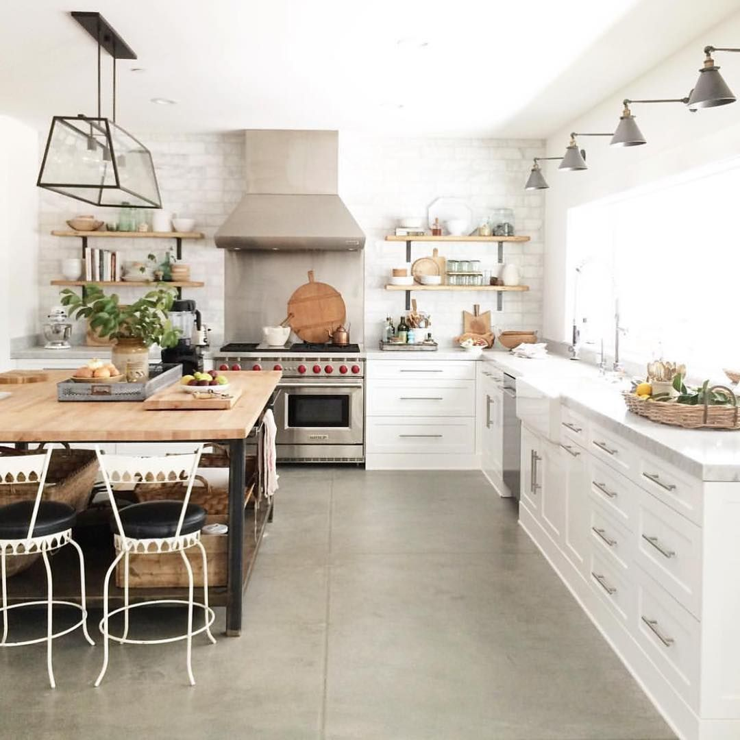 Loving every detail of @heatherbullard\'s kitchen. Also a list of ...