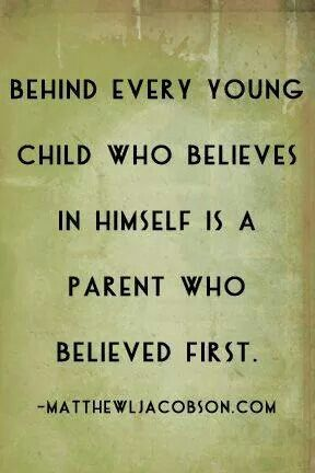You Mold Your Childs Level Of Confidence And Self Esteem Wits
