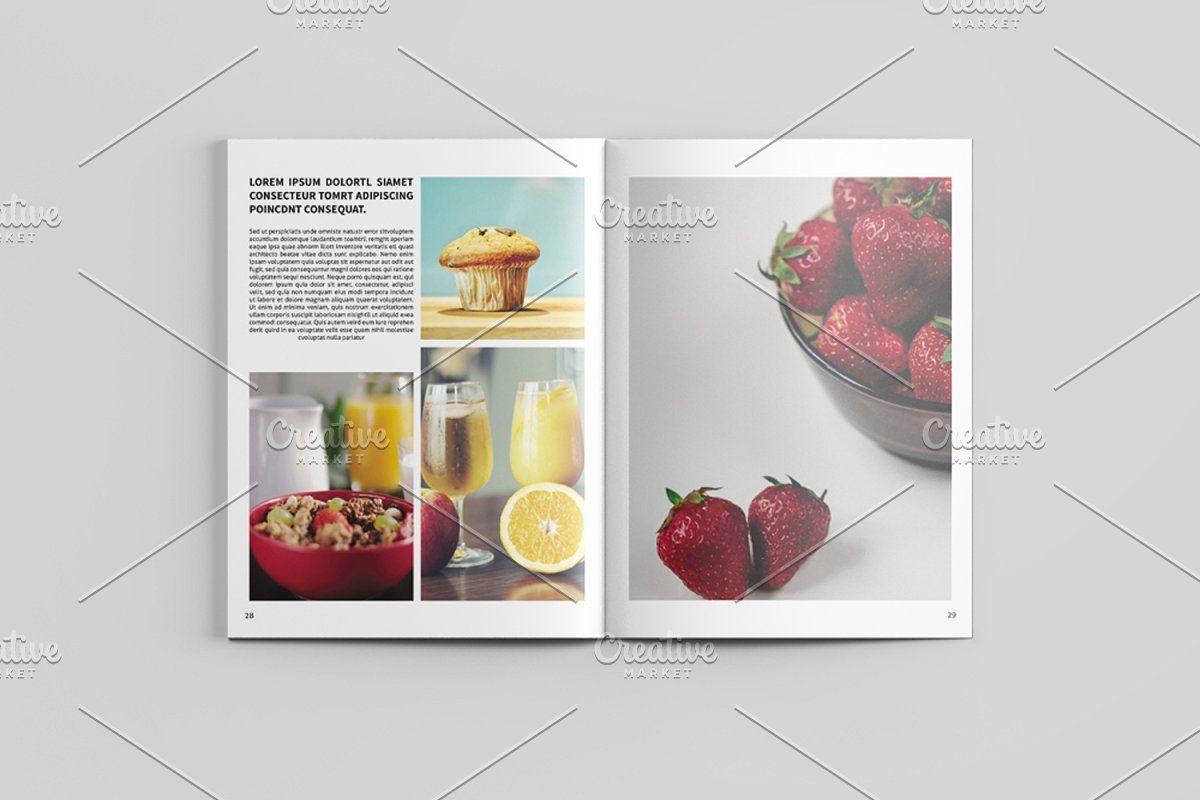 Fashion Lookbook Magazine V545 Photography Magazine Template Photography Brochure Magazine Photography