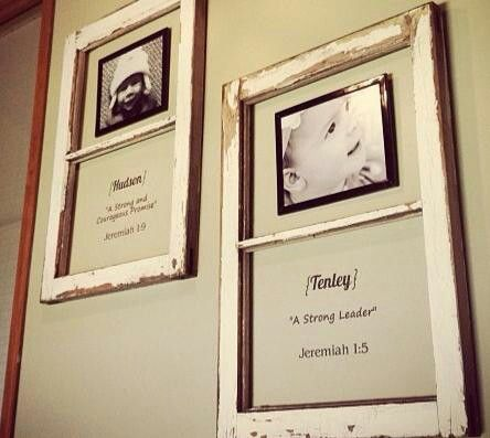 Old Window Panes Used As Frames 4 Pics Meaning Of Kids Names