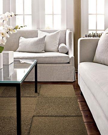 Carpet tiles i am loving the same color different texture home decorating photo martha stewart floor designs ppazfo
