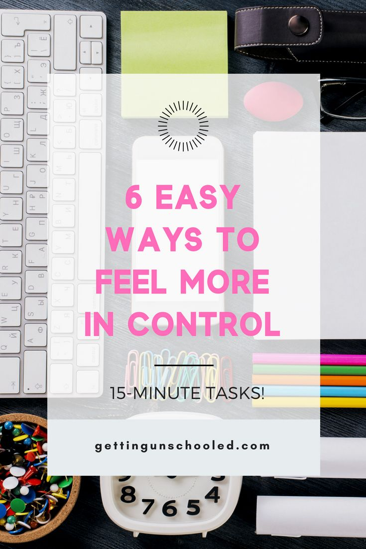 How to Beat Overwhelm and Take Back Control of Your Day