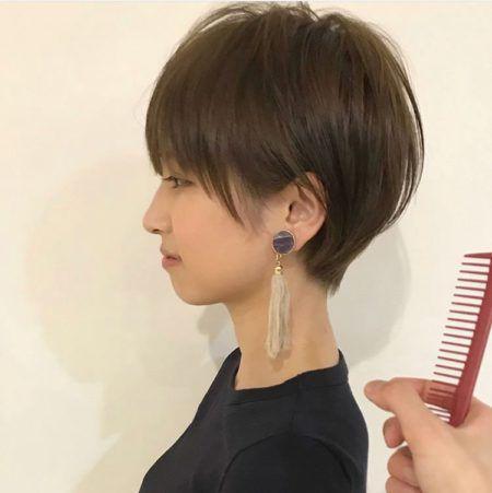 髪型 ショート 代 50