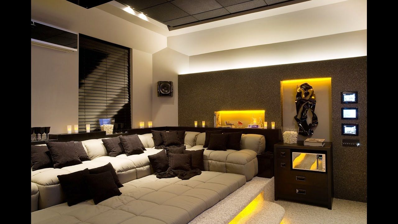 Awesome Home Theater In The Living Room A Few Tips YouTube. Home Theatre . Amazing Ideas