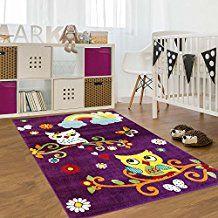 Eule Teppich lila | Kinderzimmer ▷ Lila | Piratenzimmer ...