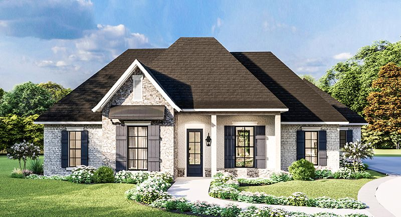 Plan 1962 1 Story 2 298 Total Square Footage One Level Homes Level Homes One Level House Plans