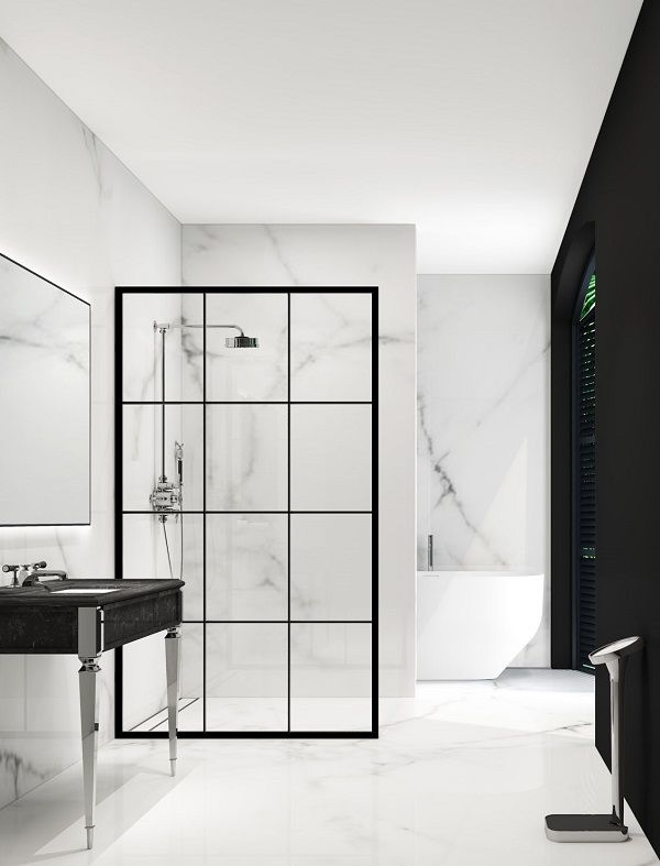 Bathroom Trends   Metal Framed Shower Screens   Crittall Window Style