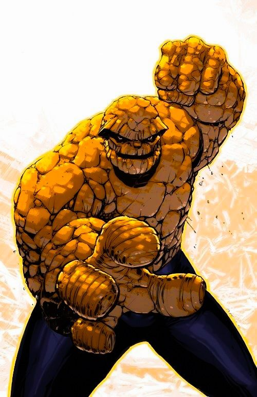 The Thing - Fantastic Four (Marvel)   marvel comics ...