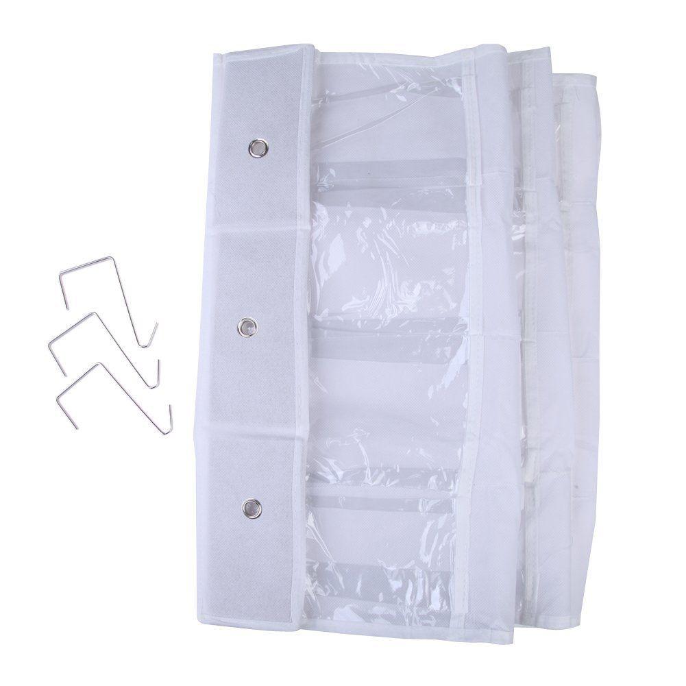 GSFY 24 Pocket Door Hanging Holder Shoe Organiser Storage Rack Wall Bag Room