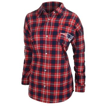 687aed6de4e Officially licensed Women s New England Patriots Flannel Shirt ...