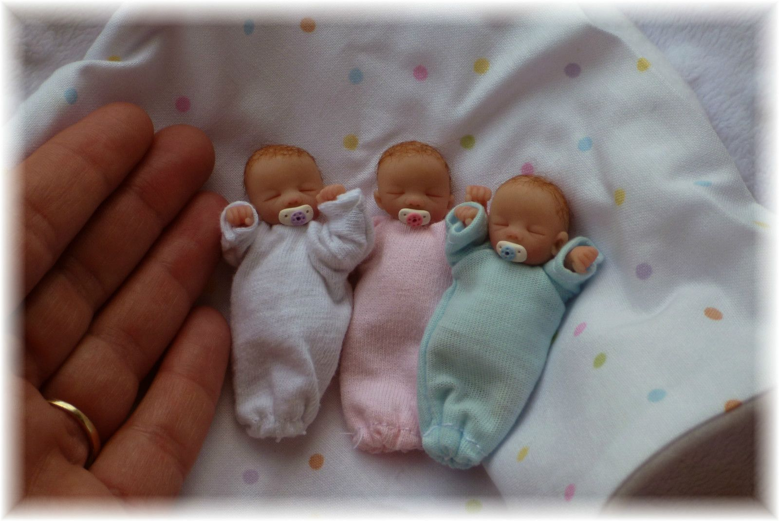 Baby Boy 2 Ooak By Ursula Blue Dragon Not Included Dollhouse Doll Clothes Real Life Baby Dolls Small Baby Dolls