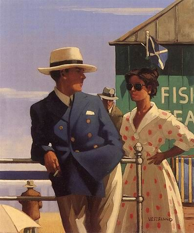 Ritual of Courtship, by Jack Vettriano (Scottish, b. 1951)