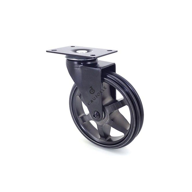 Roulette design en aluminium pour table basse tables - Table basse a roulette ...