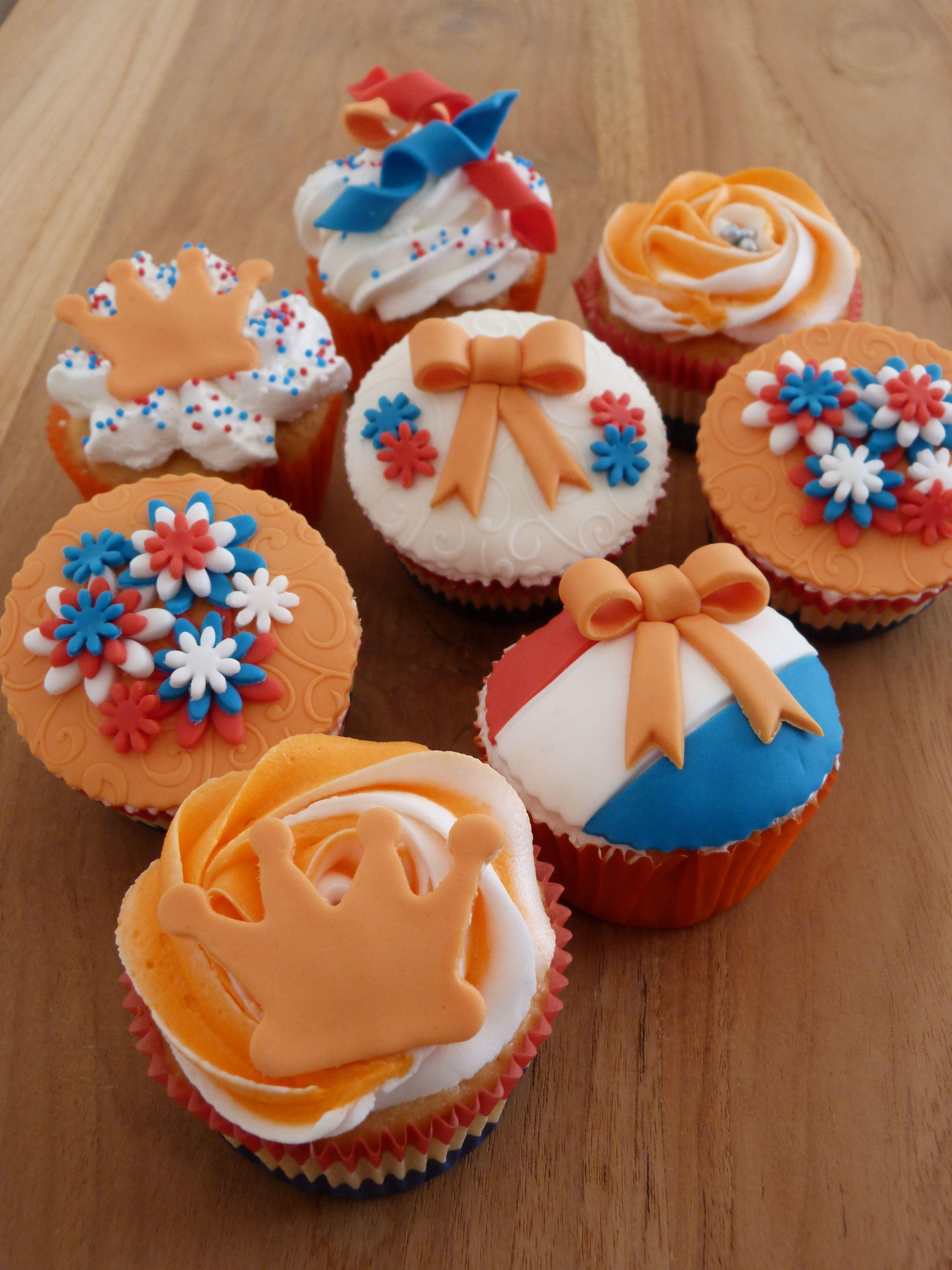 Mijn Zelf Gemaakte Oranje Cupcakes Specialty Cake Inspiration In
