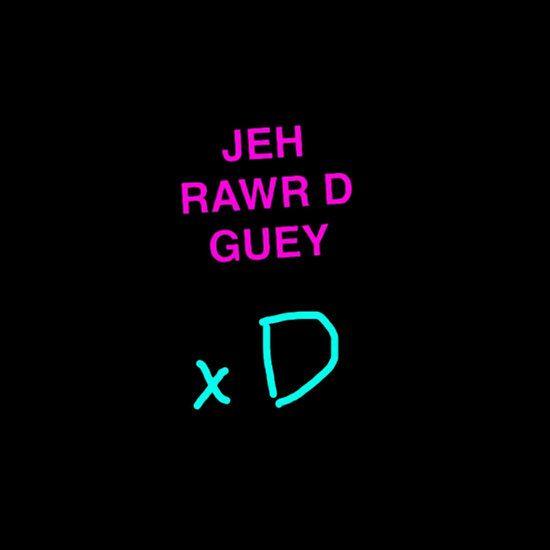 "V Dank ""Jeh Rawr D Guey"" Shirt MCR inspired m8"
