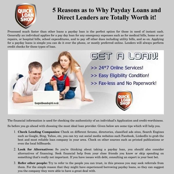 Compare Payday Loans Direct Lenders - TQLS  sc 1 st  Pinterest & Compare Payday Loans Direct Lenders - TQLS | The Quick Loan Shop ... pezcame.com