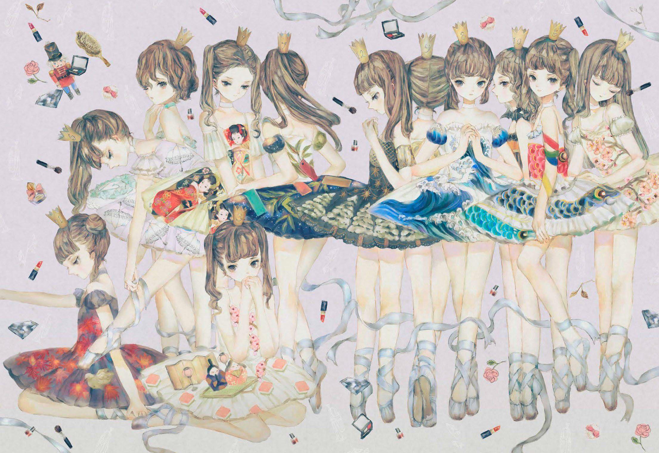 Pin von Manman Zhang auf 夜汽车 Art and illustration, Anime