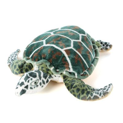 Melissa And Doug Giant Sea Turtle Plush Stuffed Animal Wayfair