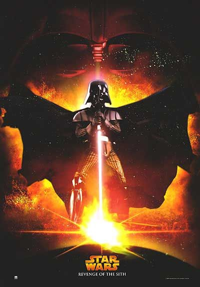 Star Wars Episode Iii Revenge Of The Sith Poster Star Wars Pictures Darth Vader Poster Star Wars Movies Posters