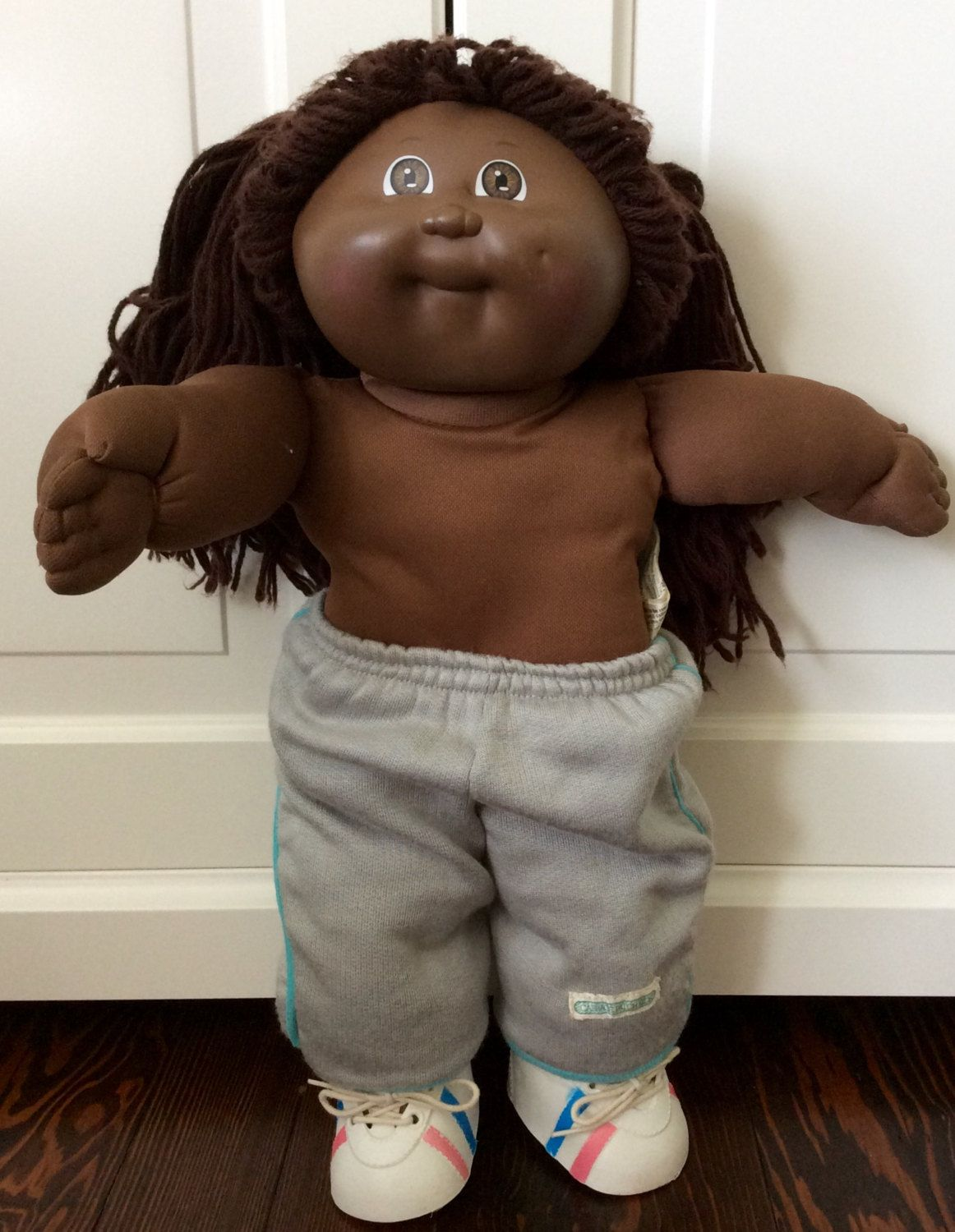 1984 Cabbage Patch Kids African American Doll By Xavier Etsy Cabbage Patch Kids Cabbage Patch Kids Dolls African American Dolls