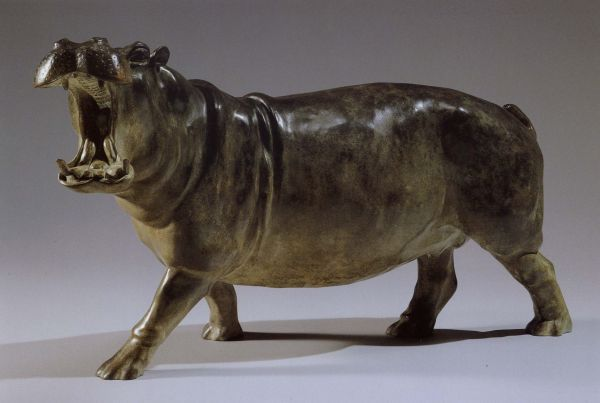 #bronze Wild Animals and Wild Life #artwork by #artist Gill Parker titled