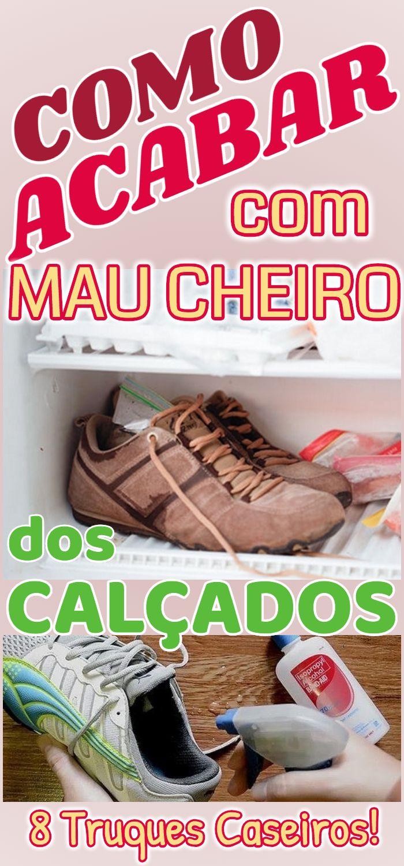 Como limpar o tênis e evitar o cheiro de chulé Lar Natural