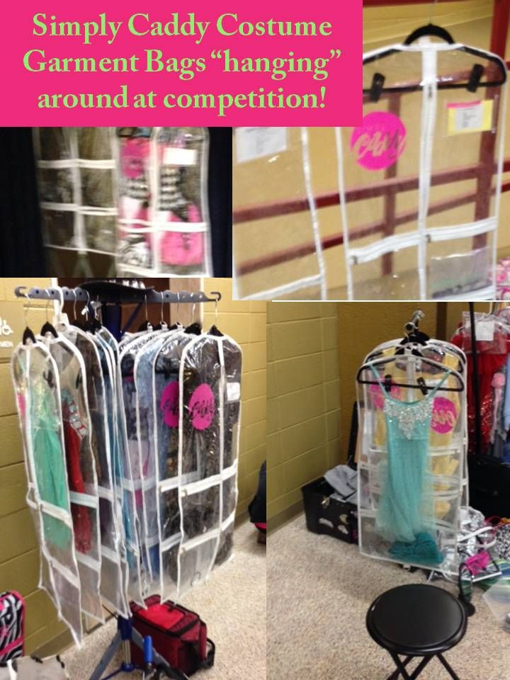 Dance Bag With Garment Rack Custom We Love To See Our Simply Caddy Garment Bags In Action At Decorating Inspiration