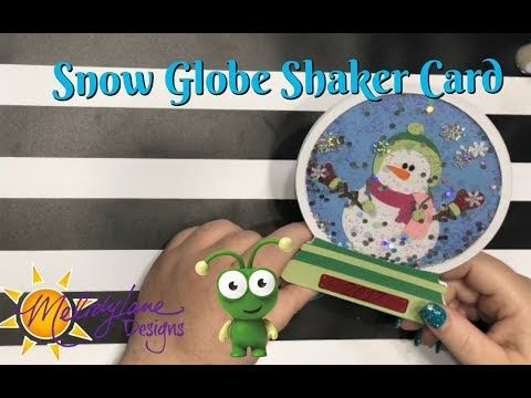 Snow Globe Card From Cricut Mystery Box September 2017