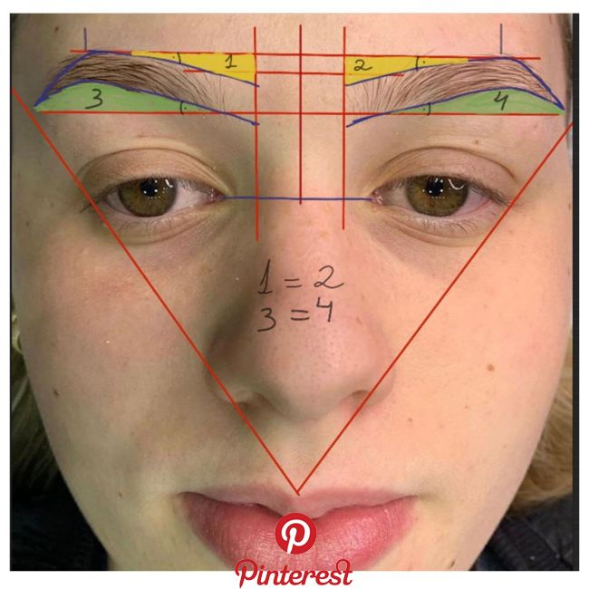 beauty Eyebrow design, Permanent makeup eyebrows