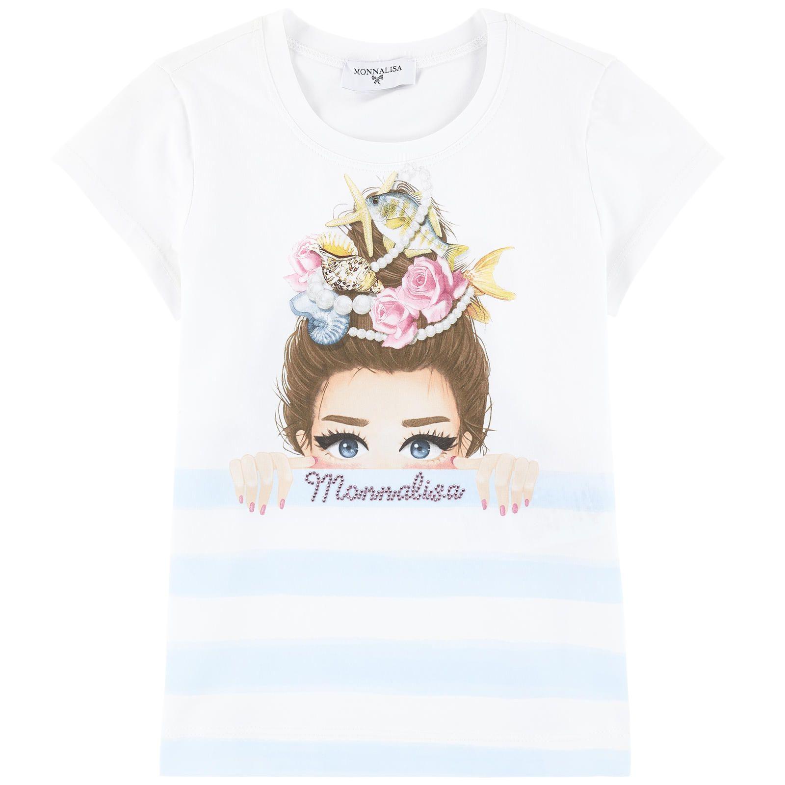 b1cb2e02d Printed T-shirt Monnalisa for girls   Melijoe.com   L&C Drop off ...