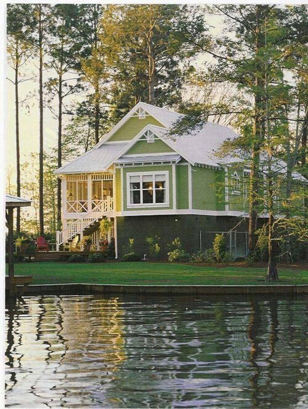 Creative Lake House Exterior Design Ideas