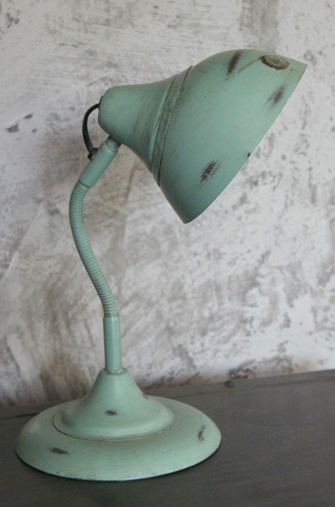 Tischlampe Lampe Retro Tischleuchte Schreibtischlampe Bauhaus-Art ...