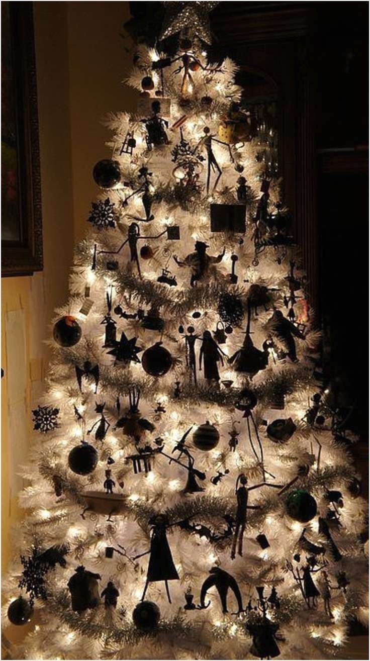 Black and White Christmas Decor Nightmare before