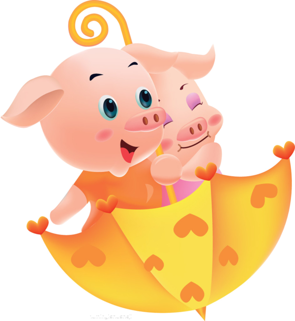 Happy Pig Pig Clipart Cartoon Comics Animal Illustration Png Transparent Clipart Image And Psd File For Free Download Pig Illustration Happy Pig Pig Wallpaper