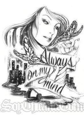 Gangster Love Drawings : gangster, drawings, Gangster, Comment, Myspace,, Twitter,, Facebook, Chicano, Drawings,, Prison