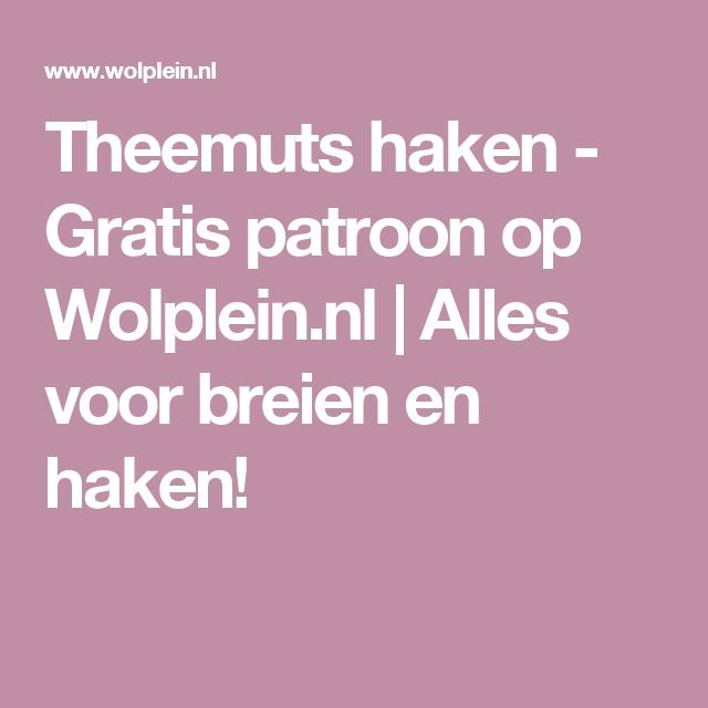 Theemuts Haken Met Byclaire Softmix Haak Patronen Pinterest