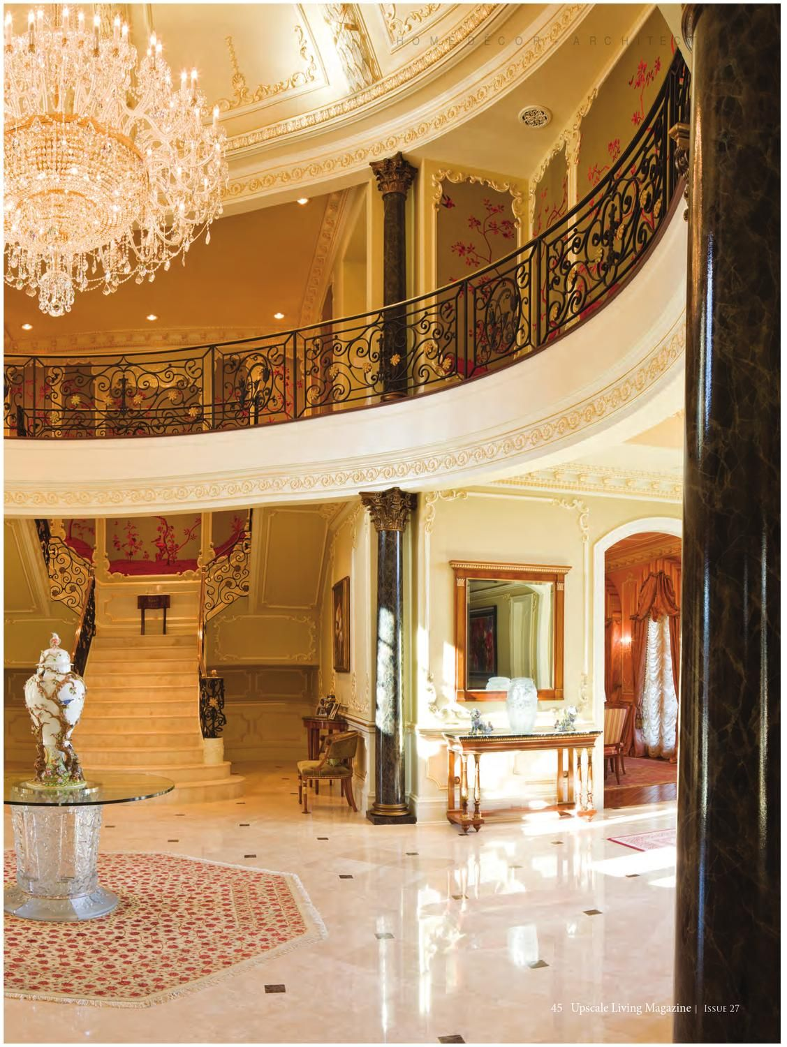 Best Upscale Living Magazine Issue 27 Grand Foyer House 400 x 300