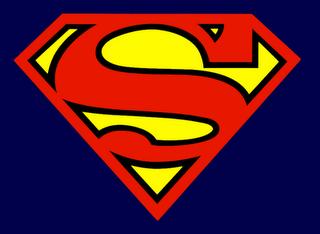 Double sided super hero capes completed pins superman - Symbole de superman ...