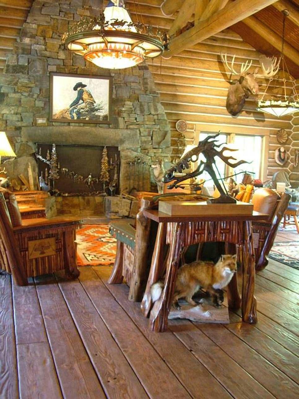 choosing rustic living room. Room · Rustic Living Choosing M